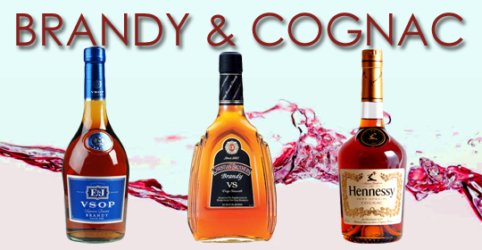 Brandy & Cognac available at Boscia's Liquor Discount House, New York